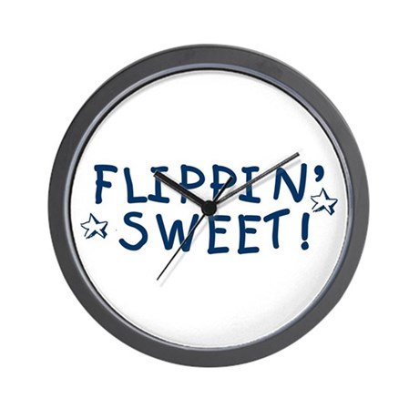 Flippin' Sweet Wall Clock