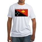 Papua New Guinea Fitted T-Shirt