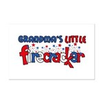 Grandma's Little Firecracker Mini Poster Print