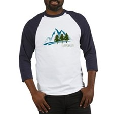 Unique Evergreen colorado Baseball Jersey