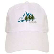 Cute Evergreen Baseball Cap