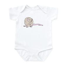 Beige Rex Dumbo Infant Bodysuit