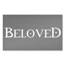 Beloved Rectangle Decal