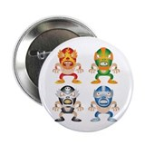 "Mexican Wrestling! 2.25"" Button (100 pack)"