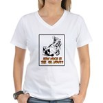 How Much is the Oil Women's V-Neck T-Shirt