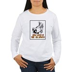 How Much is the Oil Women's Long Sleeve T-Shirt