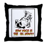 How Much is the Oil Throw Pillow