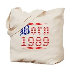 Born All American 1989 Tote Bag