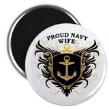 Proud Navy Wife Magnet