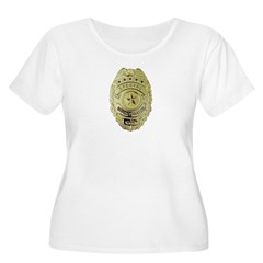 Special Investigator Women's Plus Size Scoop Neck