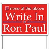 Ron Paul Yard Sign
