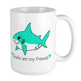 Shark Large Mug (15 oz)
