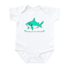 Shark Friend Infant Bodysuit