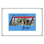 Augusta Georgia Greetings Banner