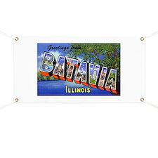 Batavia Illinois Greetings Banner