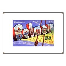 Belmar New Jersey Greetings Banner