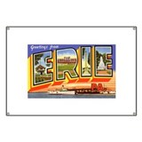 Erie Pennsylvania Greetings Banner