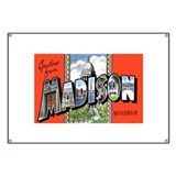 Madison Wisconsin Greetings Banner
