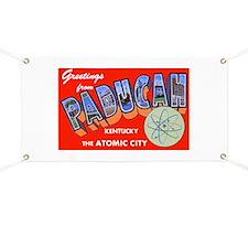 Paducah Kentucky Greetings Banner