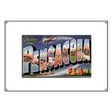 Pensacola Florida Greetings Banner