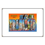 San Francisco California Gree Banner