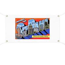 St Paul Minnesota Greetings Banner