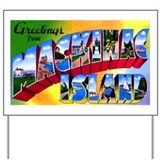 Mackinac Island Michigan Yard Sign