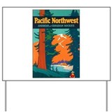 Pacific Northwest Yard Sign