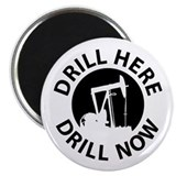 "Drill Here Drill Now 2.25"" Magnet (10 pack)"