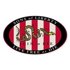 Sons Of Liberty Oval Decal