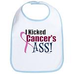 I Kicked Breast Cancer's ASS Bib