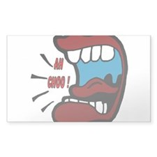 AH CHOO !! Rectangle Sticker 10 pk)