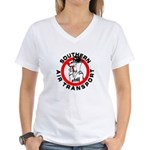 S.A.T. Women's V-Neck T-Shirt