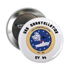 "USS Constellation CV-64 2.25"" Button (100 pack)"