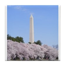 Cool Washington dc cherry blossom Tile Coaster