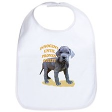 blue dane puppy Bib