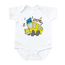 School Heart Sing Infant Bodysuit