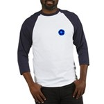 Blue Soccer Ball Baseball Jersey