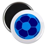 Blue Soccer Ball 2.25