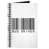Bus Driver Barcode Journal