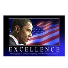Excellence Postcards (Package of 8)