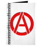 Anarchy Symbol Stencil Journal