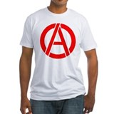 Anarchy Symbol Stencil Shirt