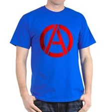 Anarchy Symbol Stencil T-Shirt