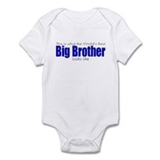 Worlds Best Big Brother Infant Bodysuit