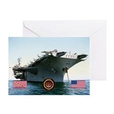 USS America CV-66 Greeting Cards (Pk of 20)