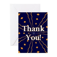 Navy Thank You Cards (Pk of 10)
