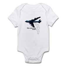 Who Would Jesus Bomber Infant Bodysuit