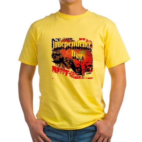Independence Day Yellow T-Shirt