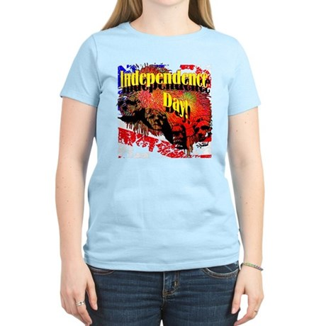 Independence Day Women's Light T-Shirt